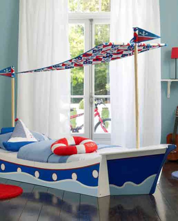 Nautical Bunk Beds: 25 Amazing Boat Rooms For Kids
