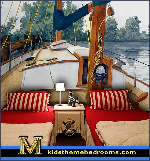One Bedroom Apartment Layout Ideas Nautical Master Bedroom Decor Luxury Bedroom Lighting Bedroom Ideas Bachelor: 25 Amazing Boat Rooms For Kids