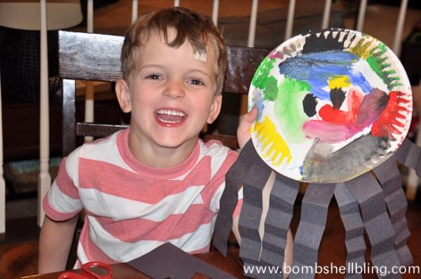 Sea Creature Kid Crafts-10