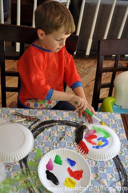Sea Creature Kid Crafts-5