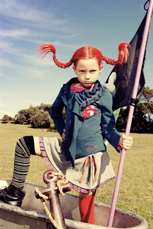 Pippi Longstocking costume girl costume