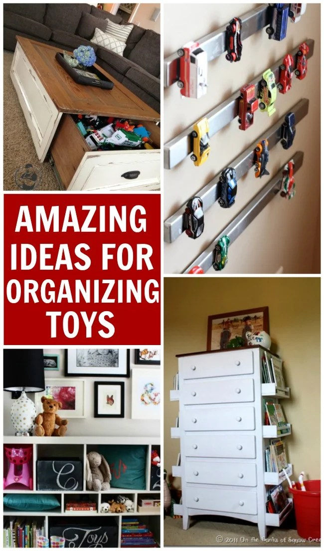10 Amazing Ideas For Toy Organization Design Dazzle