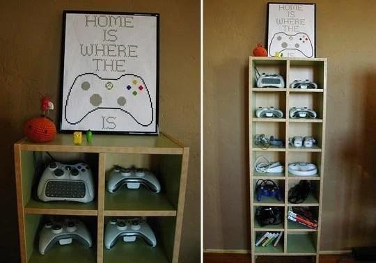 Video Game Storage Ideas Design Dazzle