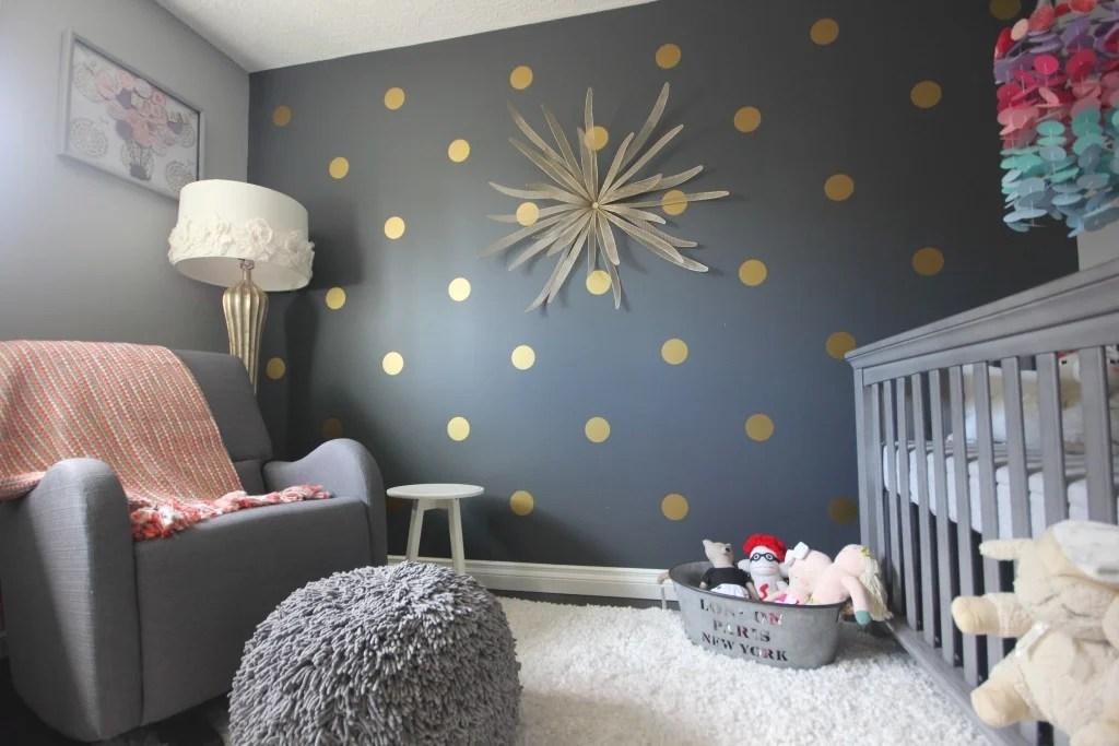 Polka Dot Bedrooms For Kids Design Dazzle