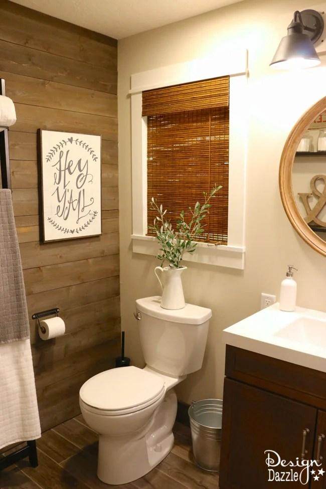 Farmhouse Bathroom IKEA Style - Design Dazzle on Farmhouse Modern Bathroom Ideas  id=11159