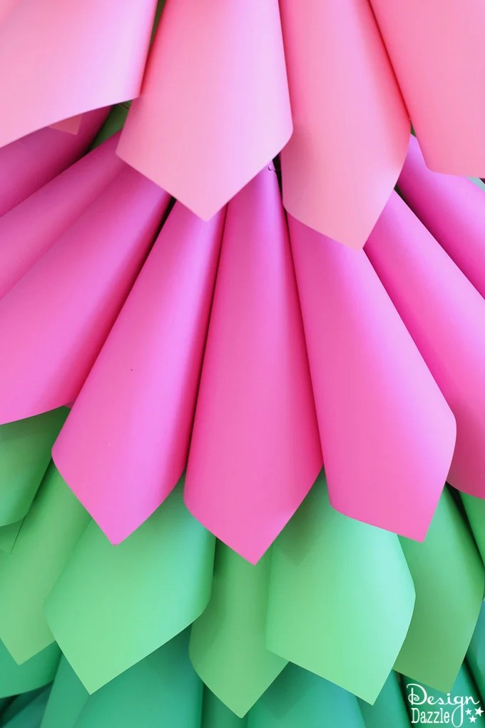 Grinch Inspired Paper Cone Tree Large Prop Design Dazzle