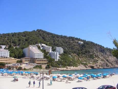 Ibiza beaches and night clubs