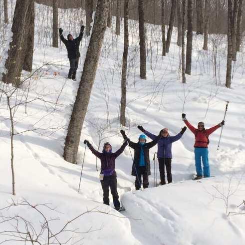Skiing at Stokely Creek Lodge