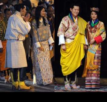 bhutan-king-wedding-ritu-kumar