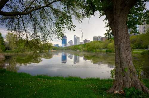 Waterfront along Milwaukee