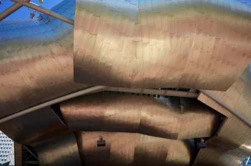 Frank Gehry designed Pavilion in Millennium Park, Chicago