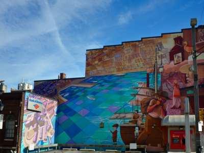 Wall murals Fells Point