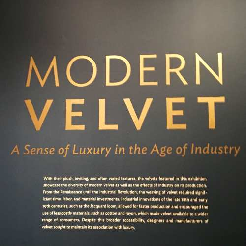 Modern Velvet-Chicago Institute of Art