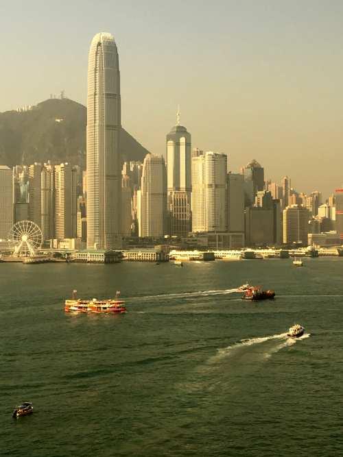 Victoria Harbor, Hong Kong