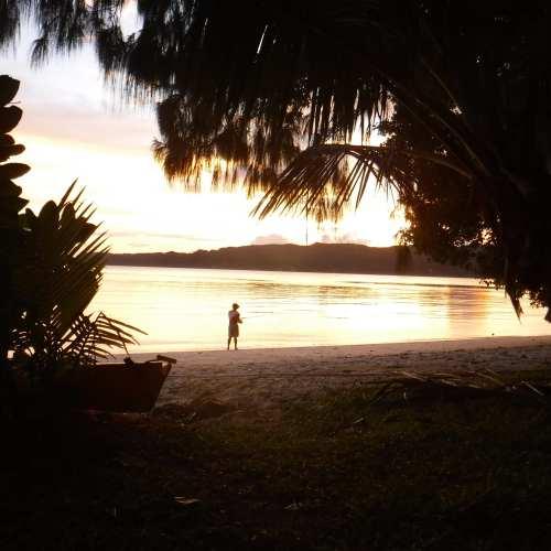 Palau: Sunset