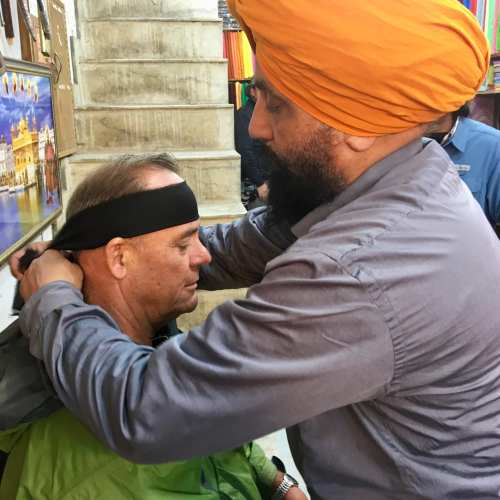 Turban Tying in Amritsar