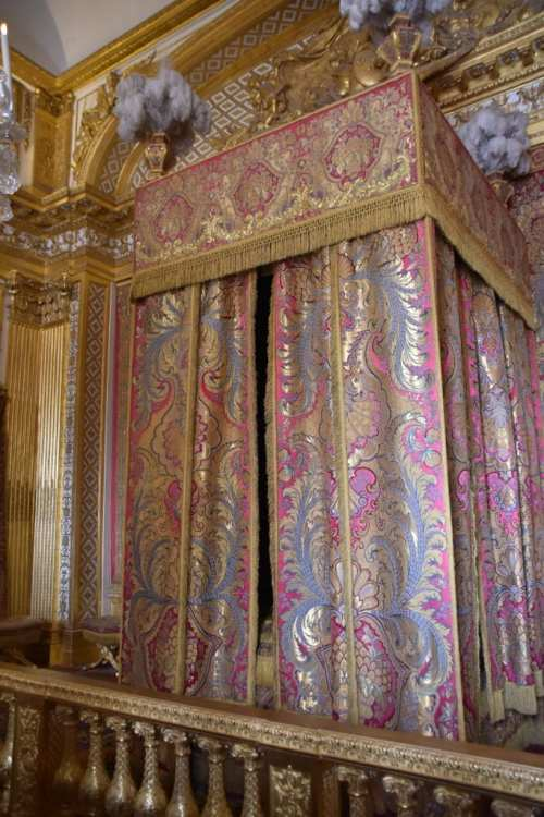 Bed chamber in Versailles