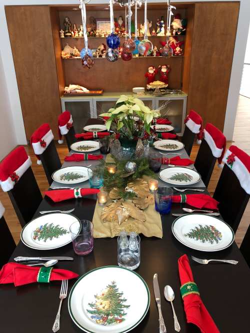 Holiday Table Top Decor