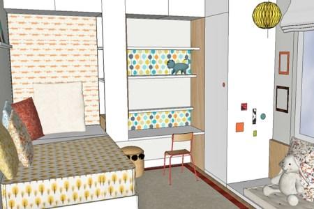 Best Home Design » agencement chambre enfant