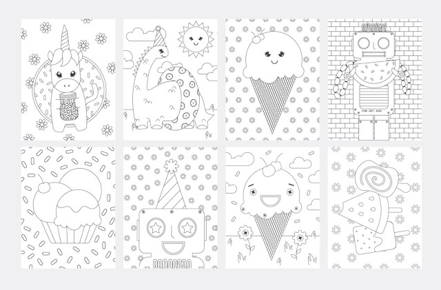 12 FREE Kids Coloring Pages - Design Eat Repeat
