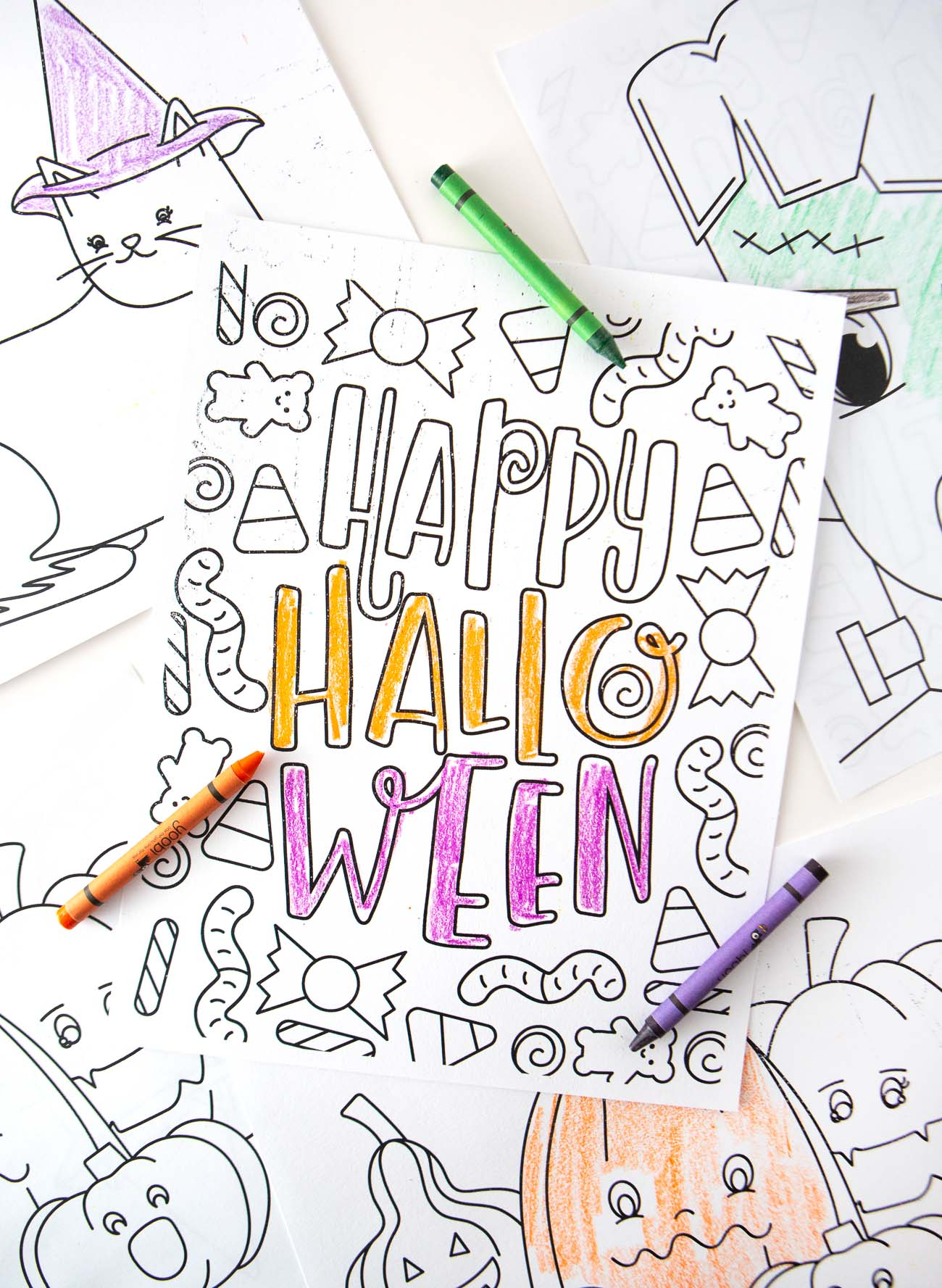 Free Halloween Coloring Pages Design Eat Repeat
