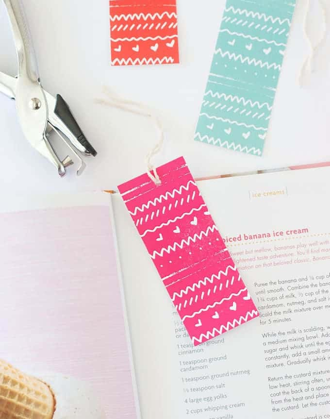 Free Printable Bookmarks | from Design Eat Repeat