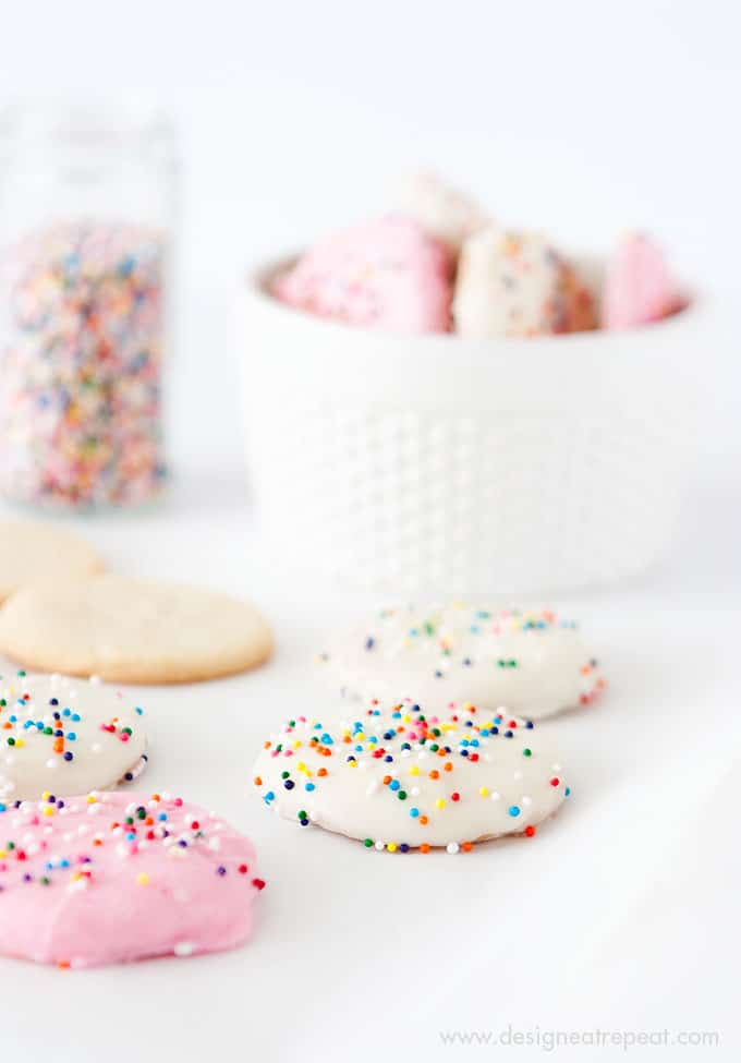 Frosted Animal Cookie Wafers!