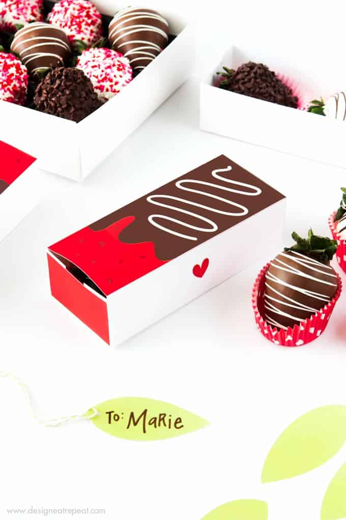 Chocolate Covered Strawberry Valentine S Day Gift Boxes