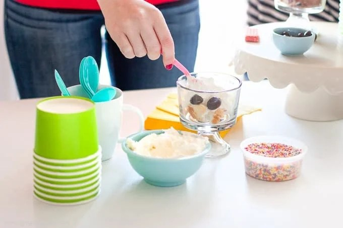 How to put together a fun springtime Trifle Party!