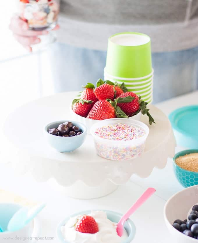 How to put together a light springtime Trifle Party by Design Eat Repeat