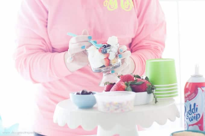 Learn how to to put together a light springtime Trifle Party!