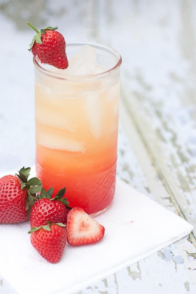 Non-Alchoholic Summer Spritzer | Use Orange Juice, Lemon-Lime Soda, and Grenadine (Quick & Easy!) | Design Eat Repeat