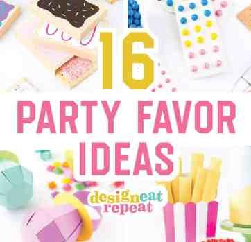 16 Party Favor Ideas