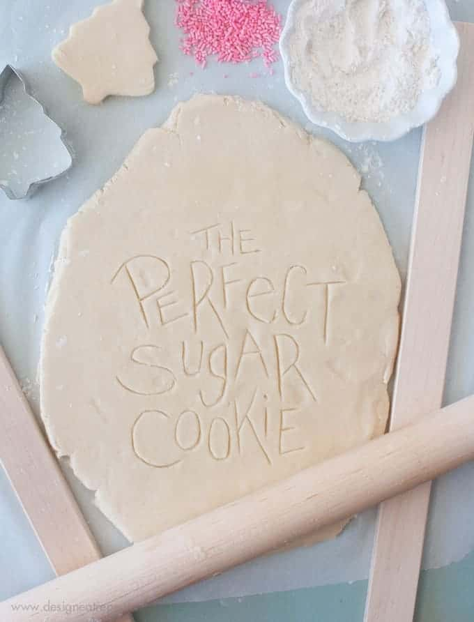 Perfect Cut Out Sugar Cookies | Design Eat Repeat