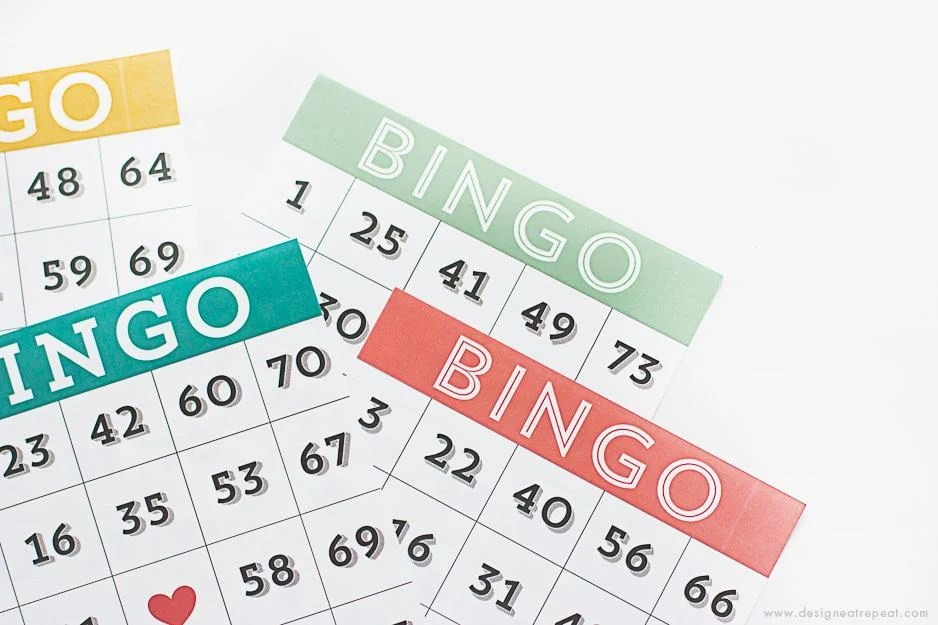 Printable & Cute Bingo Cards - Download for Free over at Design Eat Repeat