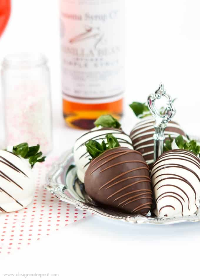 Save the hassle and order these mega chocolate covered strawberries from Shari's Berries - such a fun Valentines Day idea!