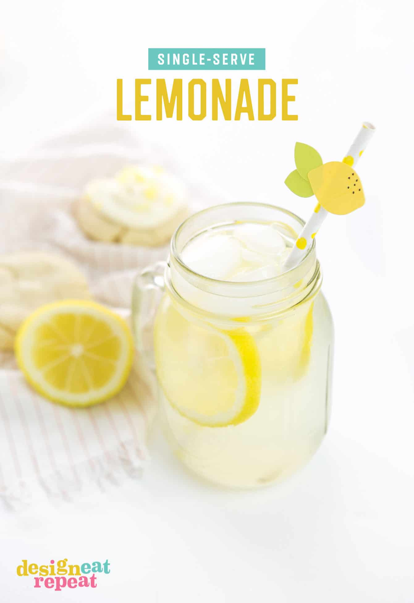 Whip up a glass of freshly squeezed lemonade in under 5 minutes with just a few ingredients! No sharing required.