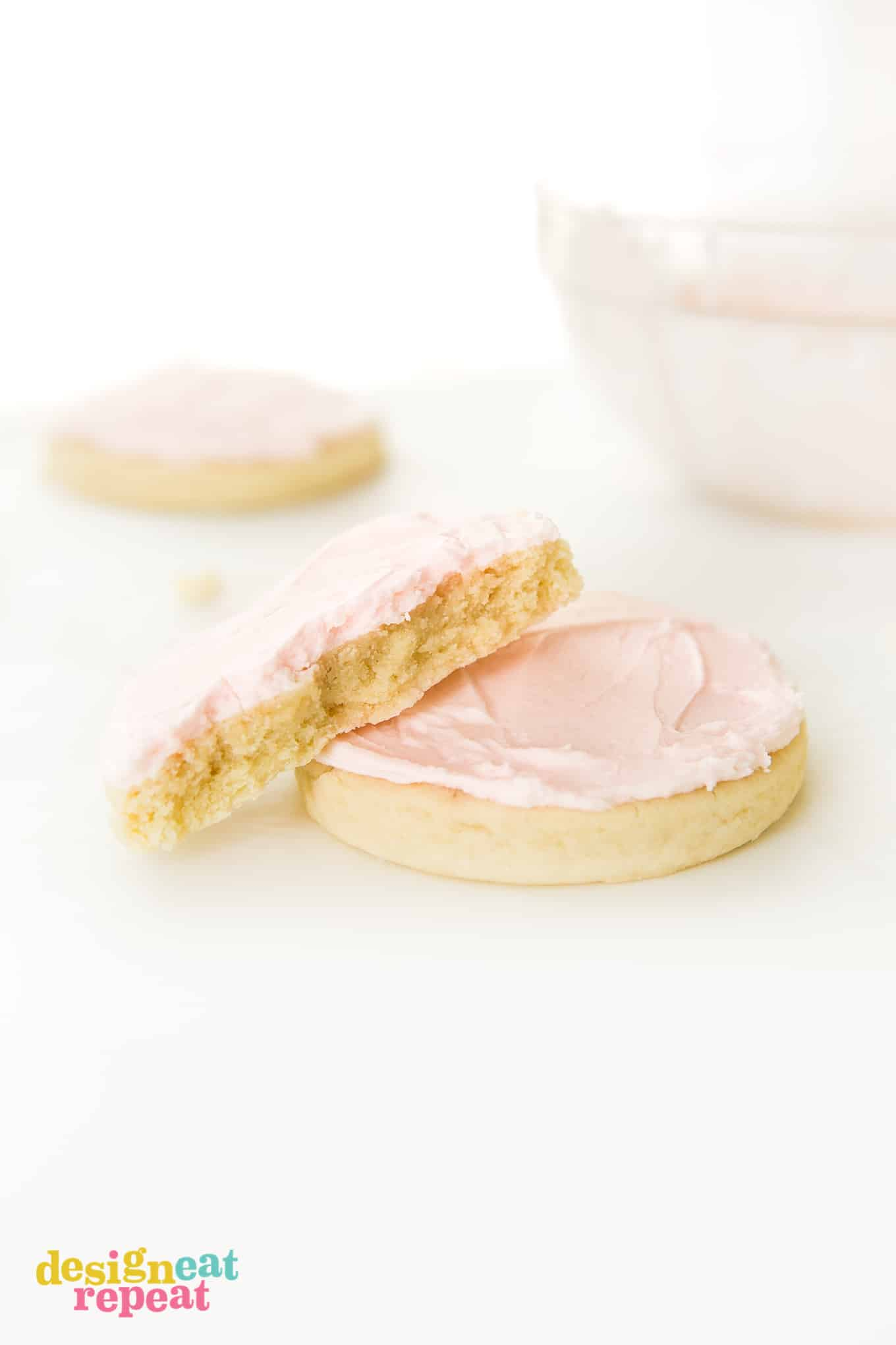 Replicate the famous Swig sugar cookie recipe by making a batch of these soft, thicksugar cookies - topped with delicious buttercream frosting! Perfect for Mother's Day, Valentine's Day, birthdays, or just as a go-to giftable treat.