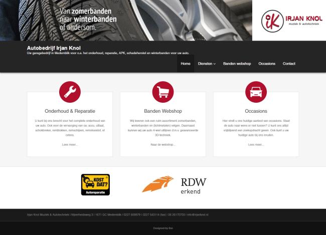 irjan knol nieuwe website