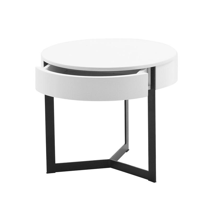 table de nuit ronde wesley a prix d usine designement