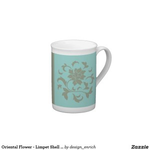 oriental_flower_limpet_shell_olive_green_tea_cup-2