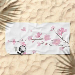 cherry-blossom-transparent-background-beach-towels