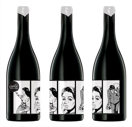 esule wine labels
