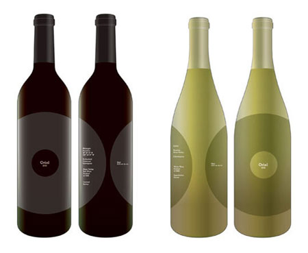 oriel wine 25 brilliant wine label, bottle & package designs