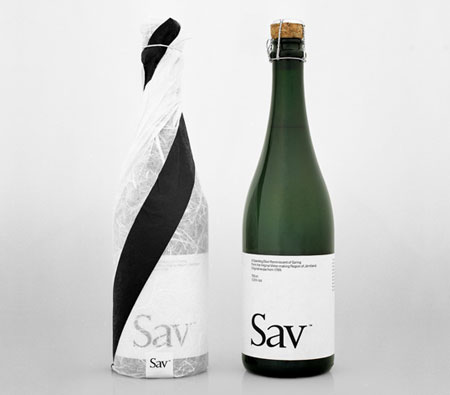 sav wine packaging