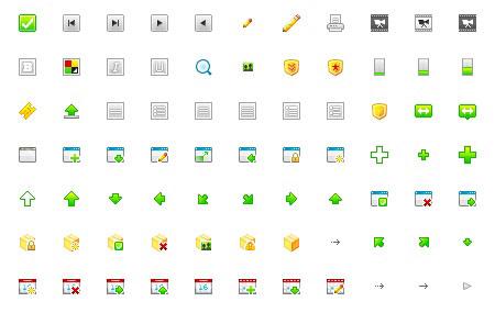 splashy icons