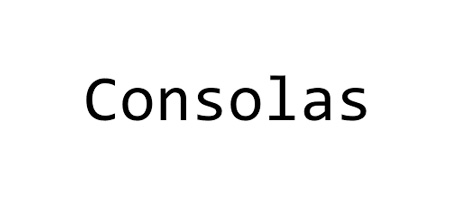 Image result for consolas font