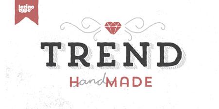 trend font
