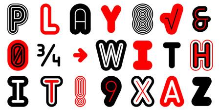 matryoshka font