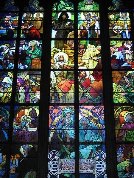 mucha-stained-glass-window